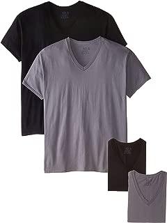 Fruit of the Loom Men's V-Neck T-Shirt Multipack