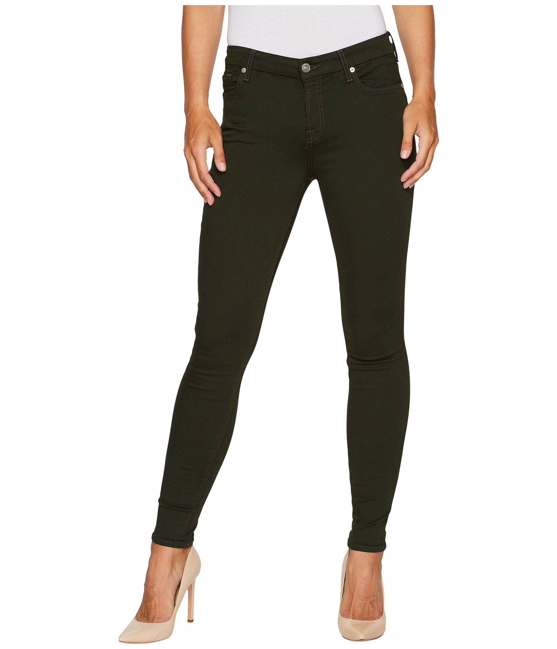 The Ankle Skinny in Central Green