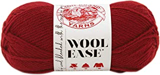 Lion Brand Wool-Ease Yarn , Cranberry