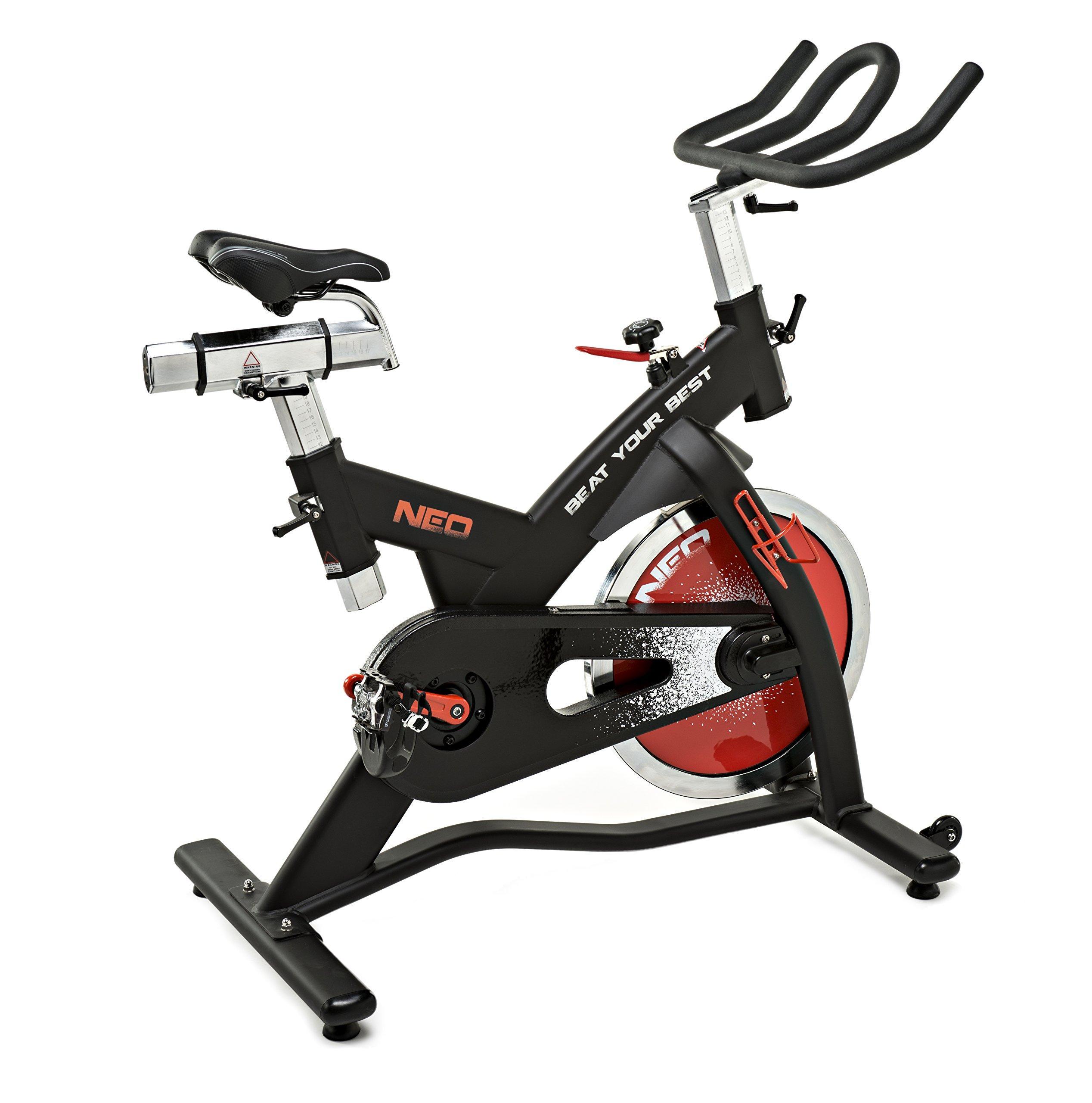 ELJQI - Bicicleta Ciclo Indoor Neo Correa Roja: Amazon.es ...