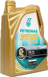Petronas 18135019 Aceite DE Motor SYNTIUM 5000 AV 5W30 5 litros, Negro, Estandar