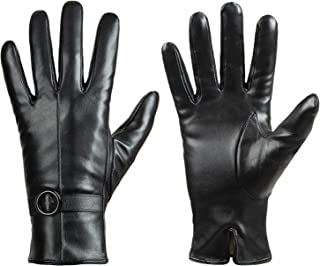 Best Womens Winter Leather Gloves Touchscreen Texting Warm Driving Lambskin Gloves Reviews