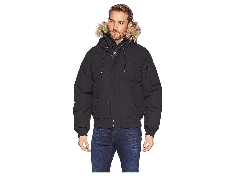 Polo Ralph Lauren Down Parka Jacket (Polo Black) Men