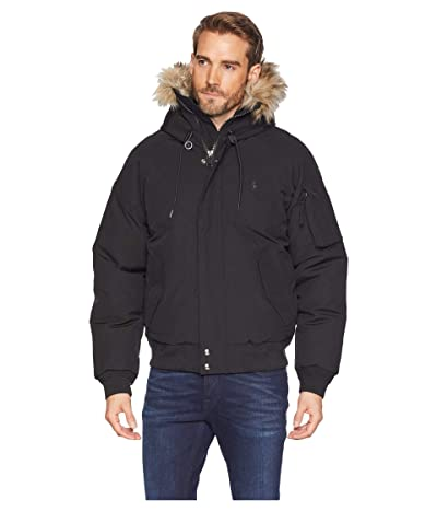 Polo Ralph Lauren Down Parka Jacket (Polo Black) Men