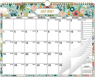 """2021 Wall Calendar - Monthly Wall Calendar 2021 with Julian Dates, 15"""" x 11.5"""", Jan 2021 - Dec 2021, Twin-Wire Binding, Bl..."""