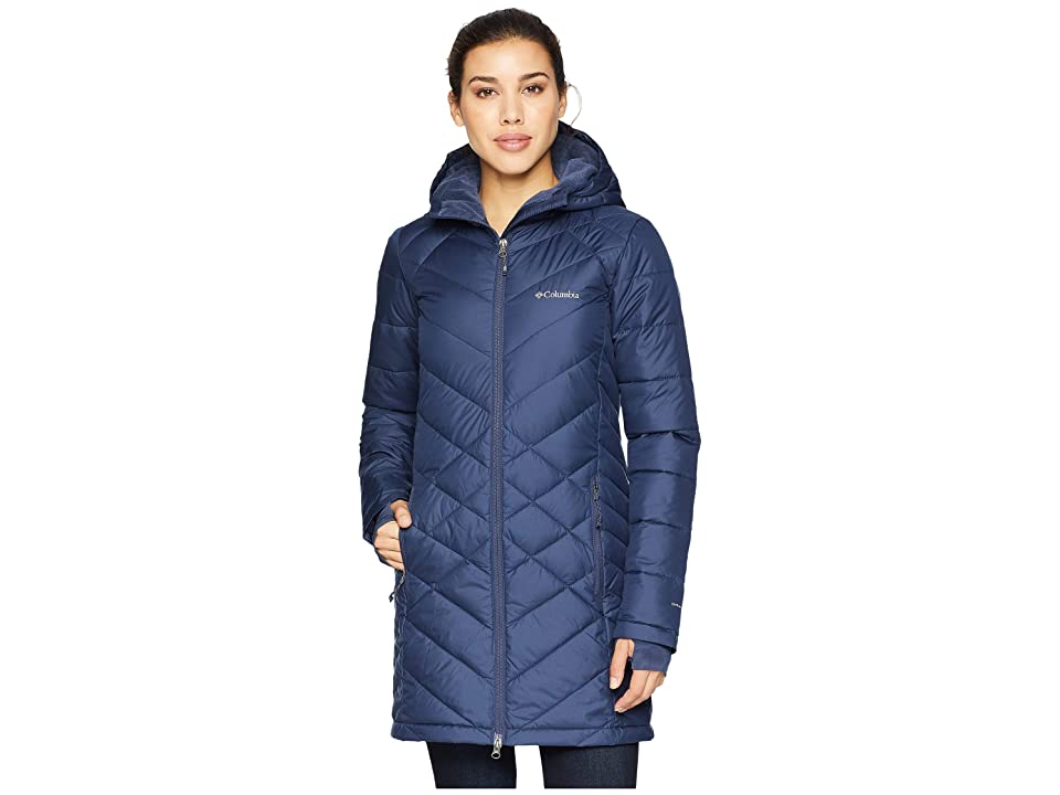 Columbia Heavenly Long Hooded Jacket (Nocturnal) Women