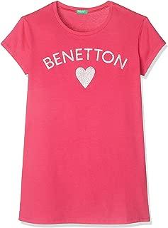 United Colors of Benetton Benetton Yazılı Tshirt Kız çocuk T-Shirt