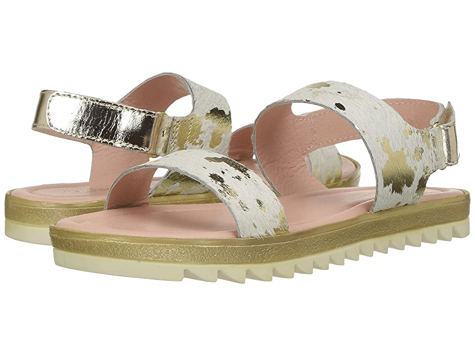 Pazitos Glow Sandal (Little Kid/Big Kid) (Gold Pony) Girls Shoes
