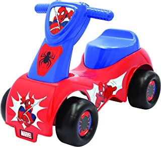 THE ULTIMATE SPIDER-MAN Adventures Push 'N Scoot Ride On