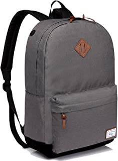 School Backpack, Kasqo Water-Resistant Classic Backpack for Men Women