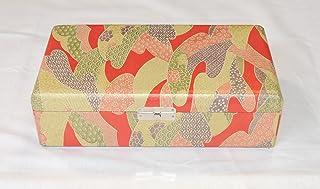 琴柱箱 友禅柄 人工革 koto bridge box (Yuzen artificial leather) (送料など込)