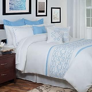 Bedford Home 14-Piece Isabella Embroidered Comforter Set, King