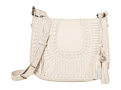 The Sak Canyon Saddle Bag by The Sak Collective (Stone Whipstitch Lacing) Handbags