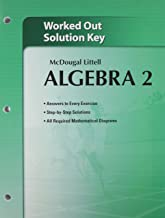 Holt McDougal Larson Algebra 2: Worked-Out Solutions Key