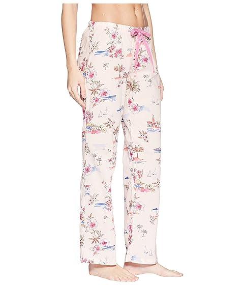 P.J. Salvage Playful Prints Vaca Pants Pink Professional For Sale Huge Range Of IDn77shX5O