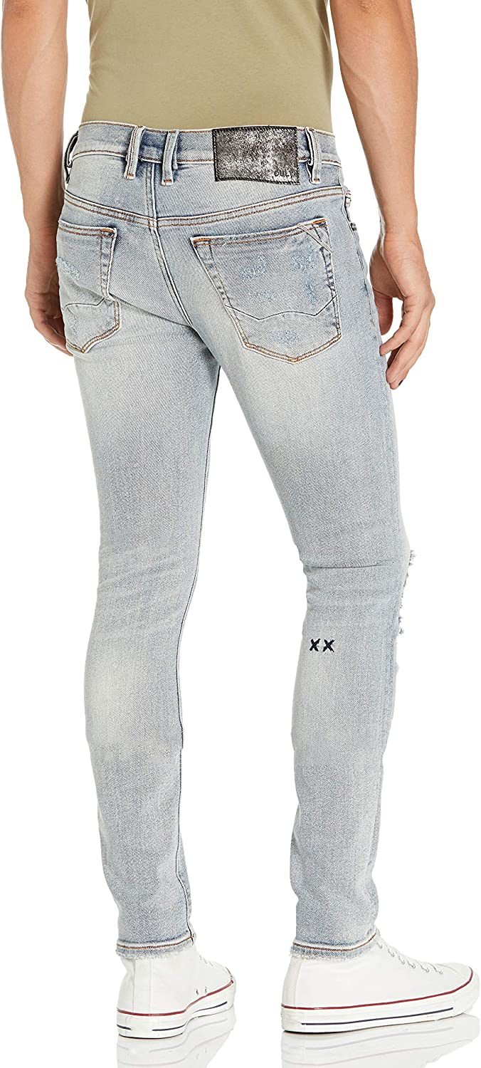 Cult of Individuality Men's Tall Size Punk Super Skinny