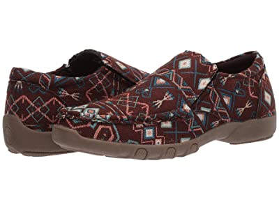 Roper Johnnie (Brown Aztec Stripe Fabric) Women