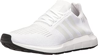 adidas Originals Men's SWIFT RUN Shoes,WHITE/CRYSTAL WHITE/BLACK,11 Medium US