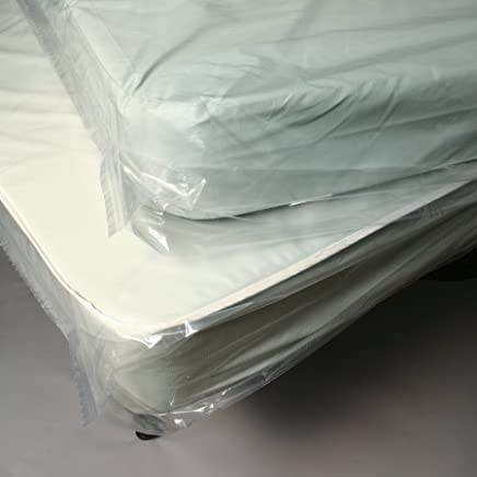 Elkay Plastics K43 1.1 mil Low Density Mattress Bag with Vent Holes, 36