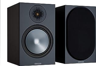 Monitor Audio Bronze 100 Bookshelf Speaker Black (Pair)