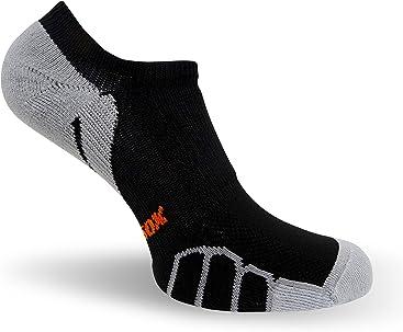 Vitalsox VT 0610 Bike Quarter Running Socks Large White-Silver