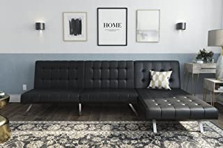 Best black leather sectional living room Reviews