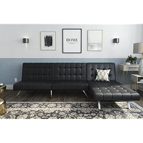 Leather Sofa with Chaise: Amazon.com