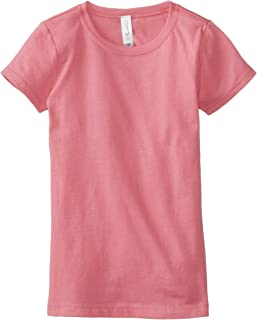 Girls T Shirts Crew Neck 100% Soft Cotton Short Shirts Tees Assorted Colors (3710)