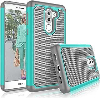 Honor 6X Case, Huawei Honor 6X Cute Case, Tekcoo [Tmajor] Shock Absorbing [Turquoise]..