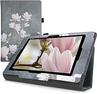 kwmobile 対応: Sony Xperia Tablet Z ケース - モクレンデザイン タブレット 保護 スタンド付き ソニー エクスペリア タブレット