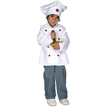 Disfraz cocinero infantil. Talla 5/6 años.: Amazon.es: Juguetes y ...