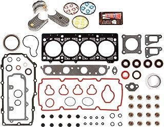 Standard Size Main Rod Bearings Standard Size Piston Rings Domestic Gaskets Engine Rering Kit FSBRR5013\0\0\0 Fits 88-00 Chrysler Dodge Mitsubishi Plymouth 3.0 6G72 Full Gasket Set