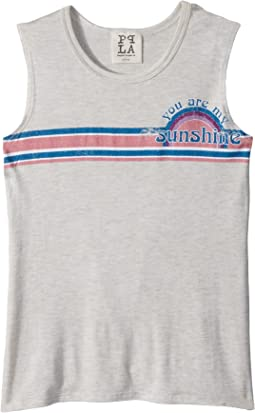People's Project LA Kids - Retro Sunshine Tank Top (Big Kids)
