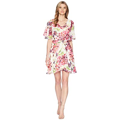 B Collection by Bobeau Monca A-Line Dress (Tropical Print) Women