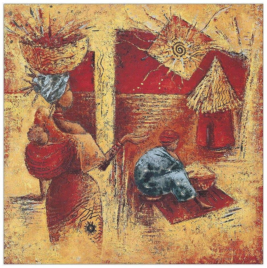 Artopweb TW18100 Decorative Panel 27.5x27.5 Inch Multicolored