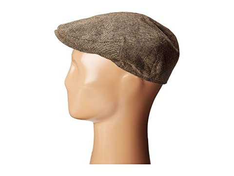 Tweed Ride Clothing, Fashion, Outfits Country Gentleman Ainsley Flat Ivy Cap with Earflaps Brown Tweed Caps $40.00 AT vintagedancer.com