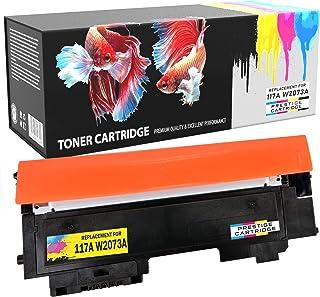 Prestige Cartridge Amarillo Tóner con Chip Alta Capacidad (700 Páginas) Compatible con HP 117A W2072A para HP Color Laser 150 a NW w MFP 178 NW nwg MFP 179 fnw fwg