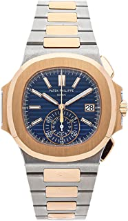 Patek Philippe Nautilus Mechanical (Automatic) Blue Dial Mens Watch 5980/1AR-001 (Certified Pre-Owned)