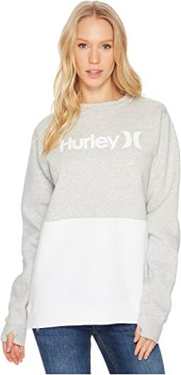 Hurley - One and Only Two Black Fleece Crew In