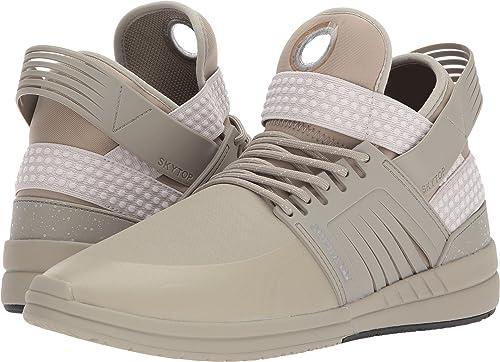 Supra Hommes's Skytop V chaussures,7.5,argent Sage Sage  détaillants en ligne