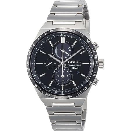 [セイコーウォッチ] 腕時計 スピリット ワールドタイム機能付きソーラークロノグラフ SBPJ025