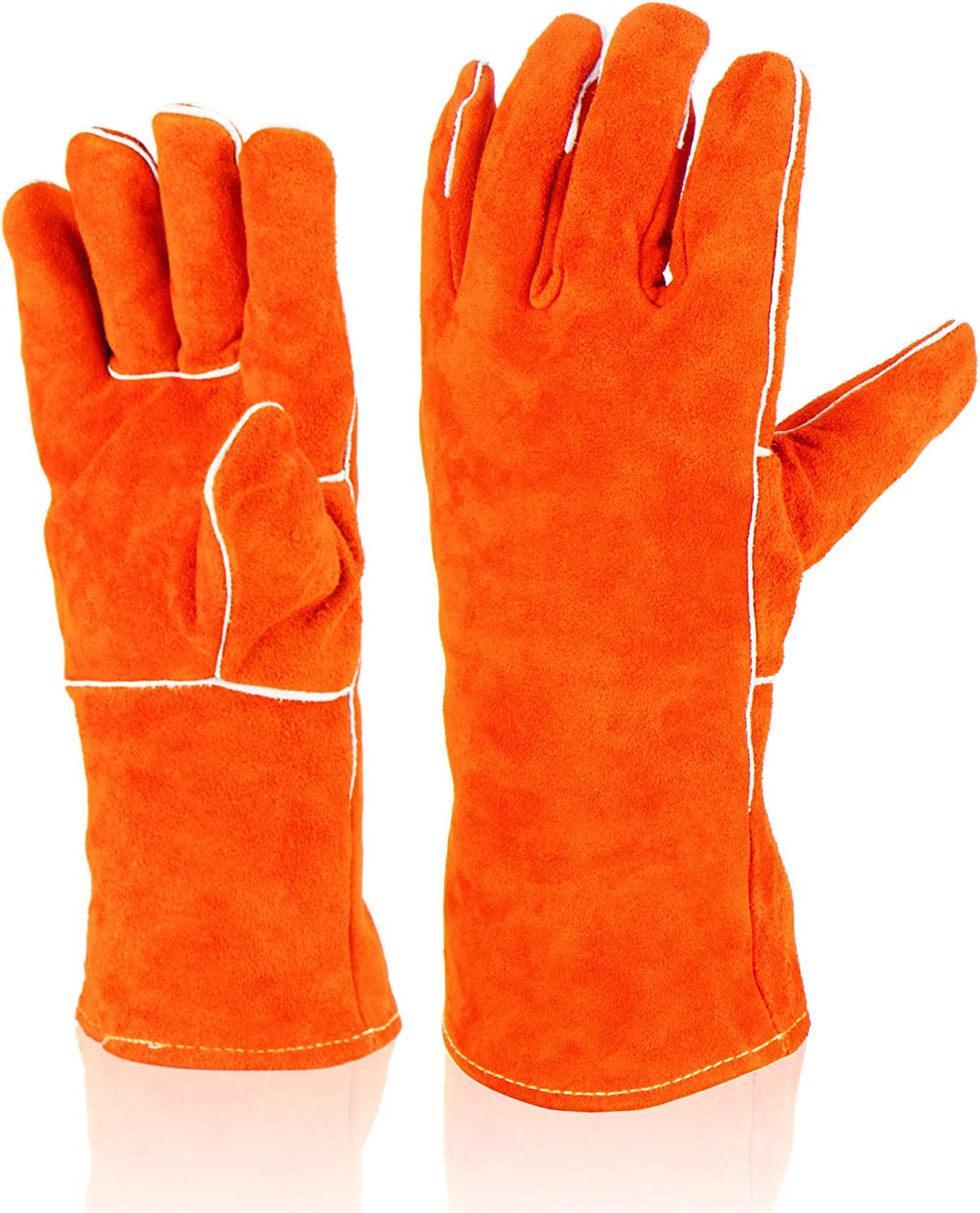 Heat Resistant Cut Gloves Work Price reduction Oven Max 64% OFF Welding Grill BBQ