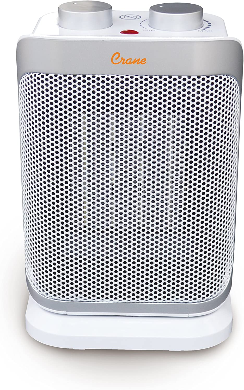 Crane Mini Max 89% OFF Tower Heater Fu Personal Bargain Oscillating Ceramic