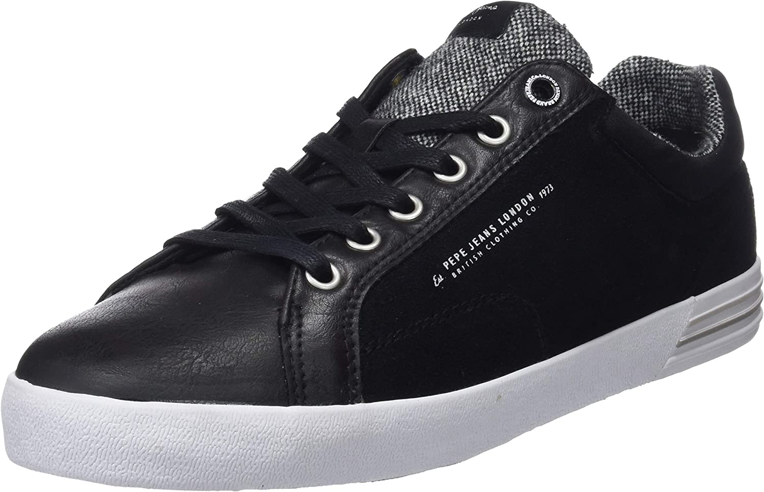 Pepe Jeans Men Trainers PMS30384 North 999 Black Size 40