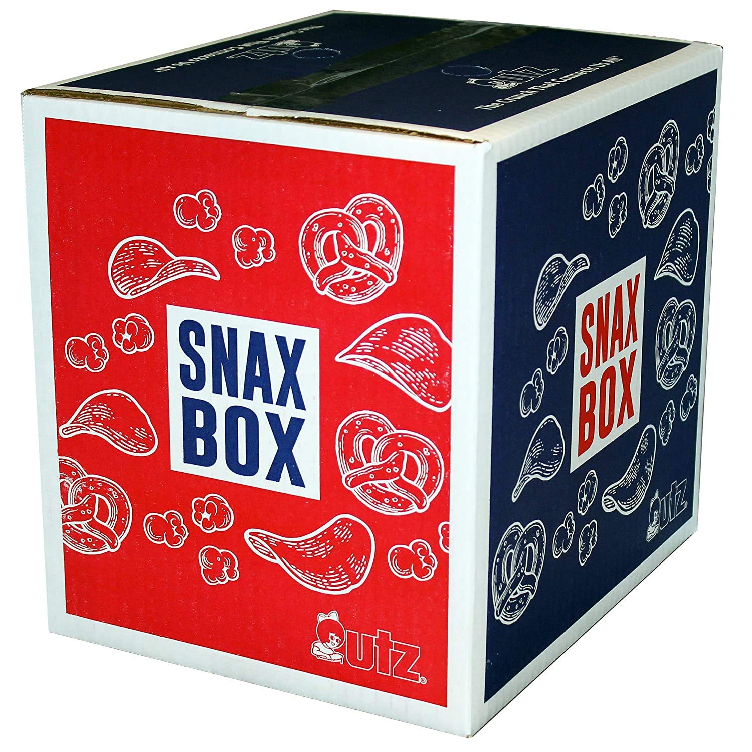 Utz Kettle Classics Potato Chips, Dark Russets – Snax Box (52 oz.) – Bulk Box of Potato Chips Made From Fresh Potatoes, Packed in a Reclosable Bag – Cholesterol Free, Trans-Fat Free, Gluten Free Snack