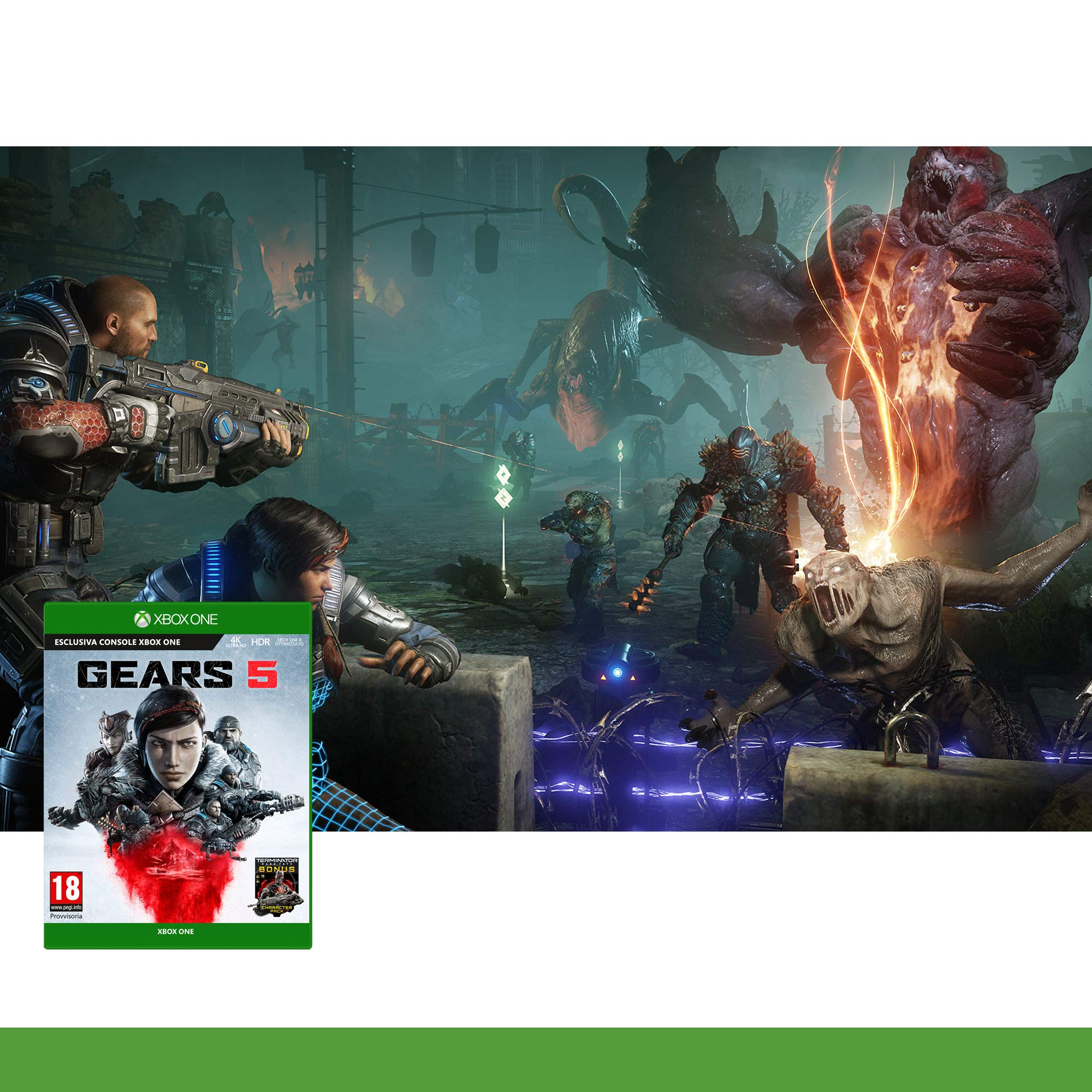 Xbox One - Gears Of War 5 - [PAL ITA - MULTILANGUAGE]: Amazon.es ...