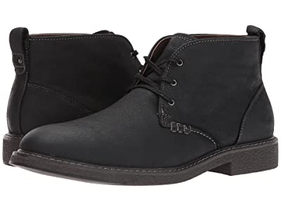 Dockers Tulane (Black Oily Tumbled Full Grain) Men