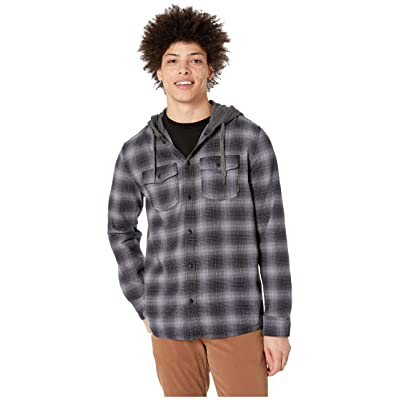 Quiksilver Snap Up Long Sleeve Hoodie (Quiet Shade) Men