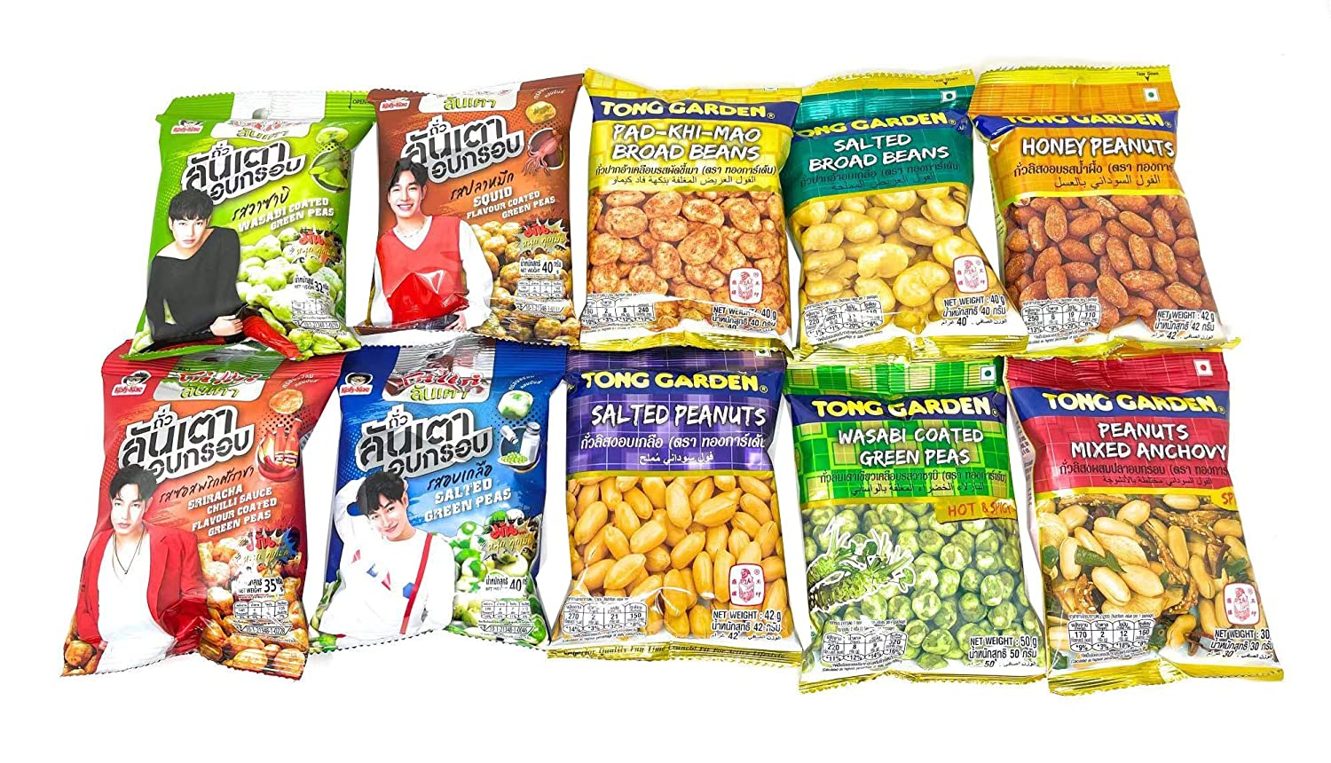 Healthy Free shipping Nut Snacks Grab And Pack Ranking TOP6 10 Variety Go Count