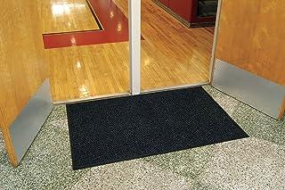 WaterHog Diamond | Commercial-Grade Entrance Mat with Rubber Border – Indoor/Outdoor, Quick Drying, Stain Resistant Door Mat (Charcoal, 3` x 4`)